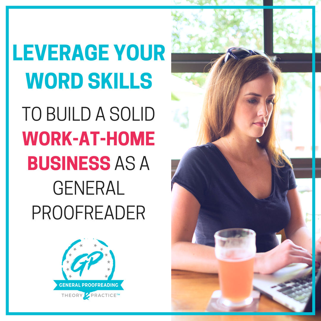 Work-at-home freelance proofreading course